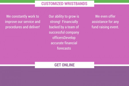 Live Wristband | Cancer Awareness Bracelets - Wristband Connection Infographic