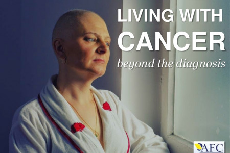 Living With Cancer: Beyond the Diagnosis Infographic