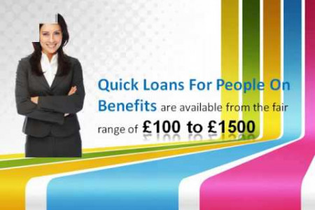 Loans For People On Benefits - Quick Access to Funds Infographic