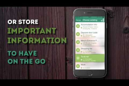 Location Based Note and Reminders App | RemindMeAt Infographic