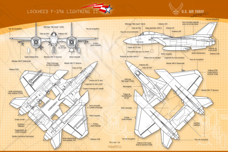 Lockheed F-19 Lightning II Infographic