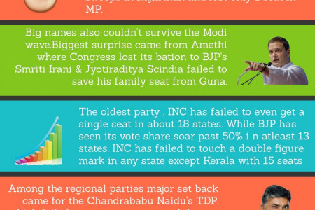 Lok Sabha election results 2019 Infographic