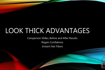 Look Thick Instant Hair Fibers Advantages Presentation Infographic