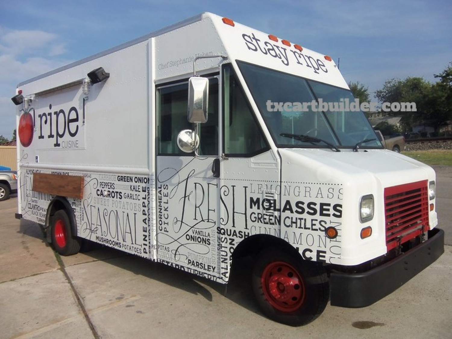 Looking for a Food Truck Builders Infographic