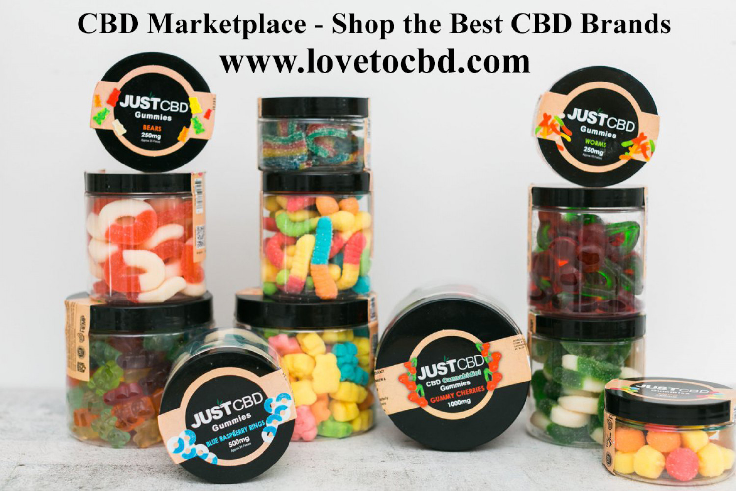 Love to CBD - CBD Marketplace - CBD Marketplace Infographic