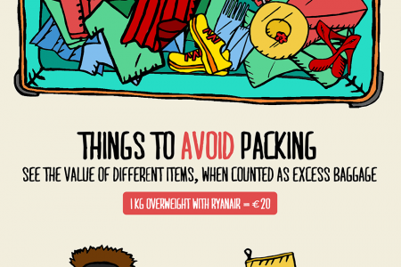 Low cost airline baggage fees dissected Infographic