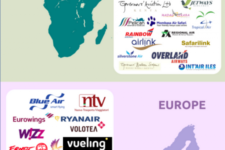 Low Cost Airlines Integrated by TravelCarma Infographic