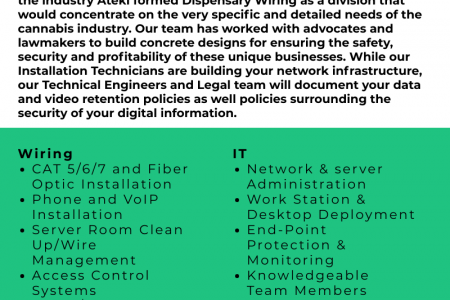Low Voltage Wiring Services Infographic