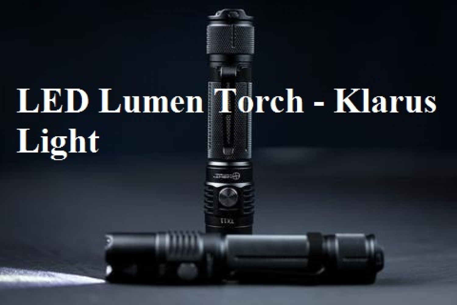 Lumens | Klarus Light Infographic