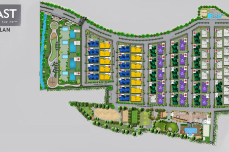 Luxury Apartments in Bangalore - Master Plan - 77 East Infographic