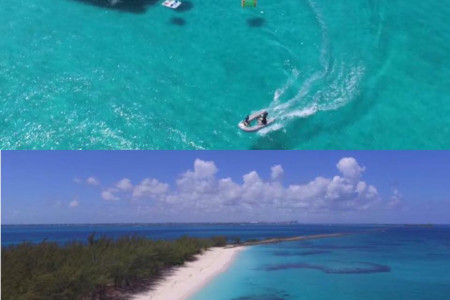 Luxury Yacht Charters in Bahamas Infographic