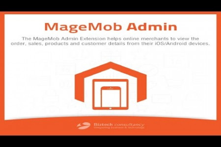 MageMob Admin By Biztech Store Infographic