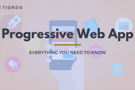 Magento Progressive Web App - Free Download at Tigren Infographic