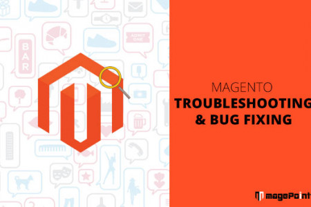 Magento Troubleshooting & Bug Fixing Infographic