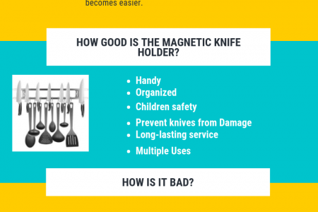 MAGNETIC KNIFE HOLDER GOOD OR BAD Infographic