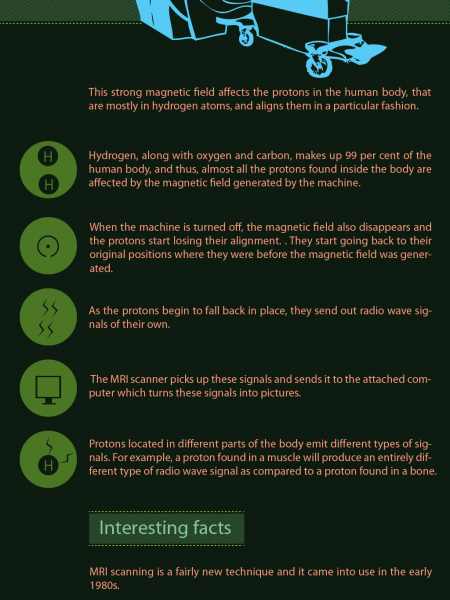 Magnetic Resonant Imaging (MRI) Infographic