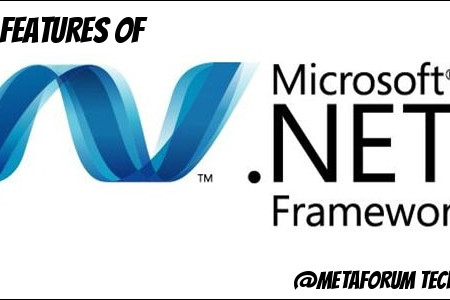 Main Features of .NET framework Infographic