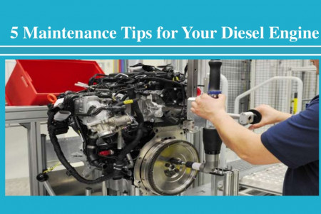 Maintenance Tips for Your Diesel Engine Infographic