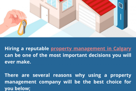 Major Benefits of Using a Property Management Company Infographic