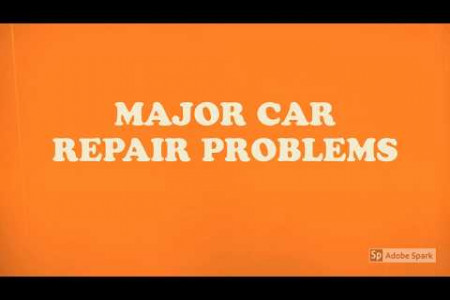 Major Car Repair Problems Infographic