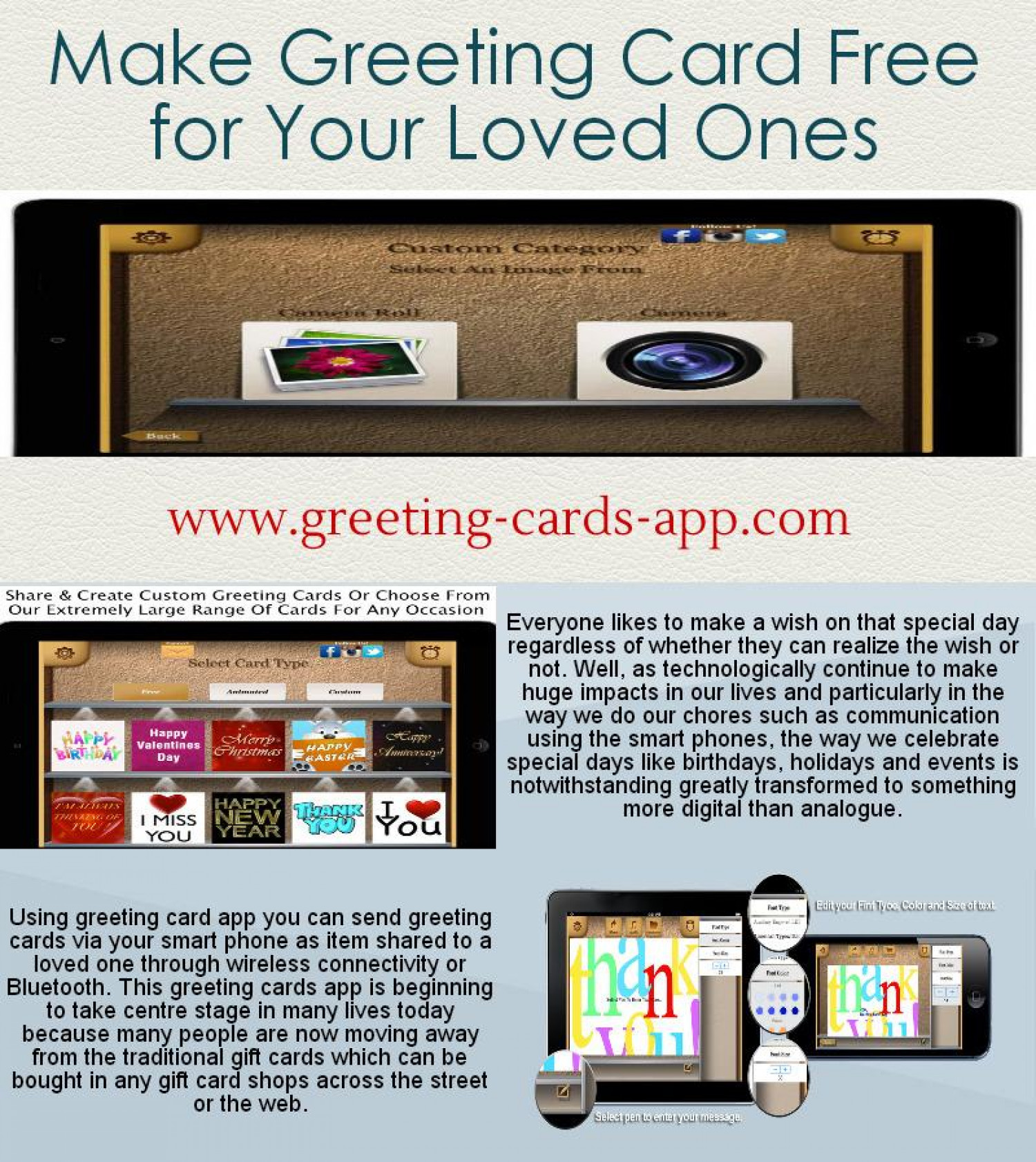 Make Greeting Card Free For Your Loved Ones Visual