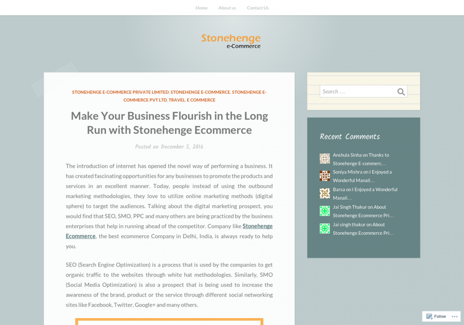 Make Your Business Flourish in the Long Run with Stonehenge Ecommerce Infographic