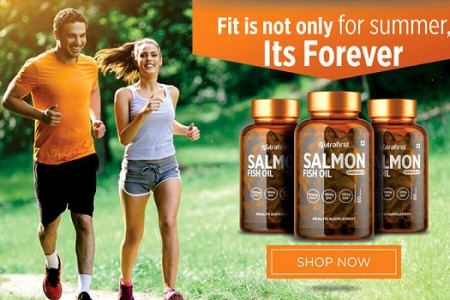 Make Your Health Better With Best Salmon Fish Oil Capsules Infographic