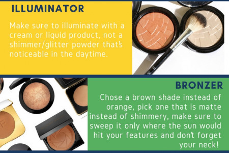 MAKEUP THAT SHOULD BE UNDETECTABLE Infographic