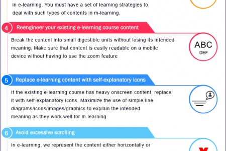 Making E-learning Content Mobile Compatible – A Few Aspects to Consider  Infographic