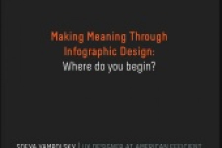 Making Meaning Through Infographic Design Infographic
