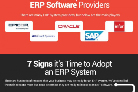 Making The Leap: 7 Reasons it's Time to Invest in an ERP System Infographic