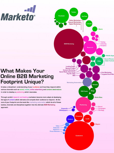 Making Your B2B Marketing Footprint Infographic