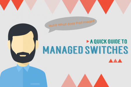 Managed Switches & What They Can Do Infographic
