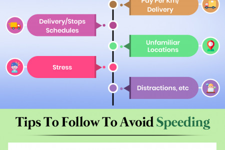 Managing Effective Customer Deliveries Without Speeding Infographic