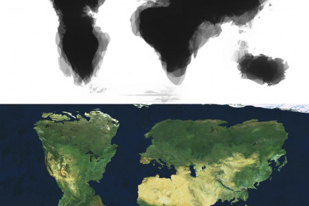 Map of the World According to 30 American University Students Infographic