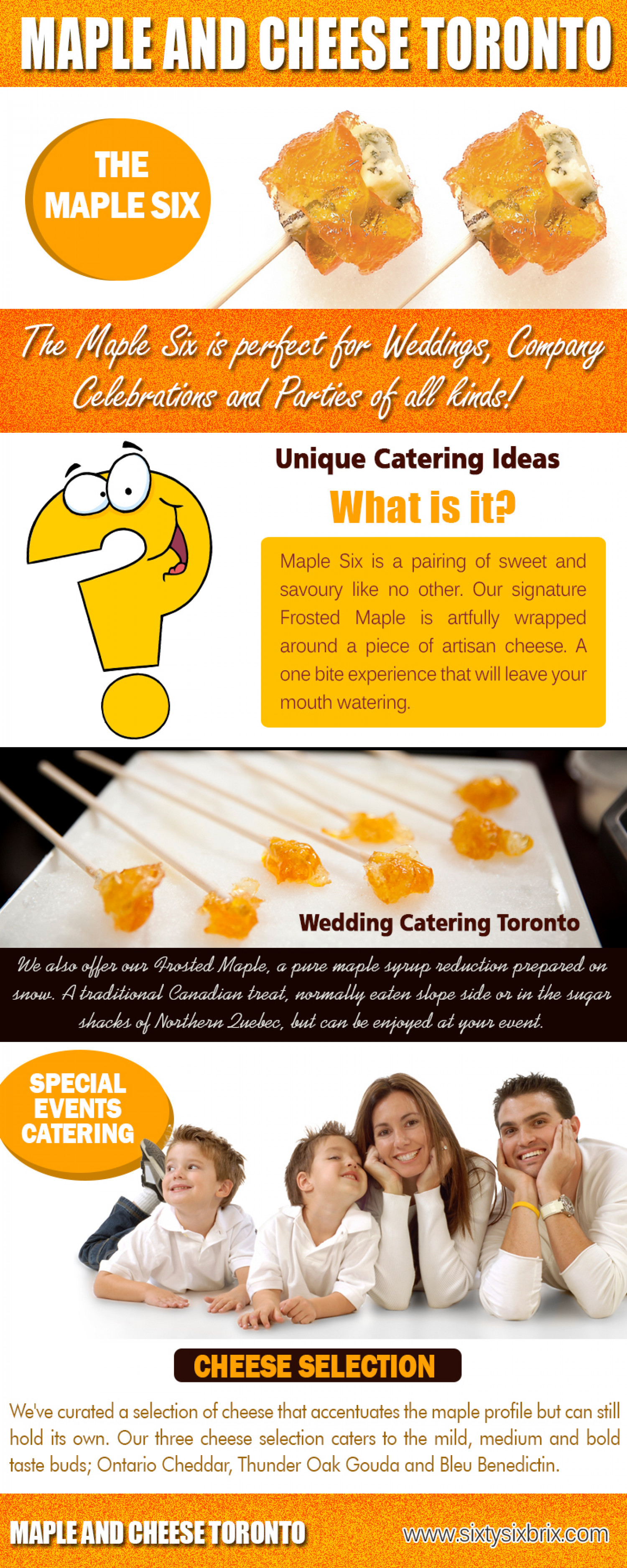 Maple and Cheese Toronto Infographic