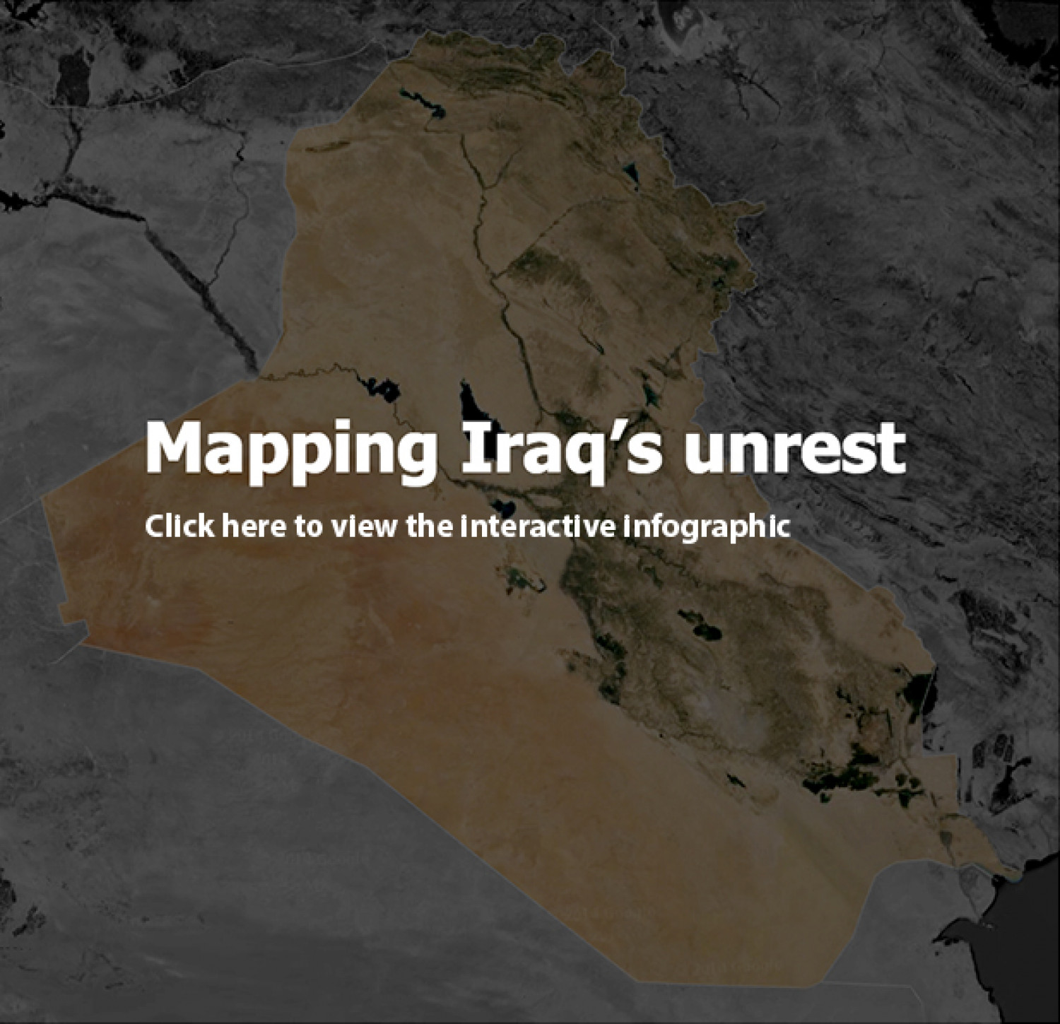 Mapping Iraq's Unrest Infographic