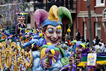 Mardi Gras Carnival in New Orleans Infographic