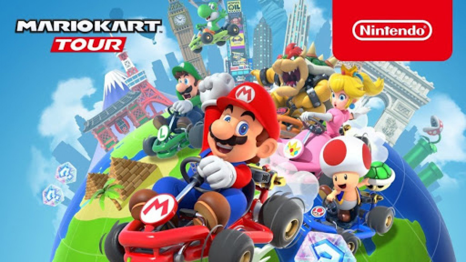 Mario Kart Tour Will Get Multiplayer on March 8th Infographic