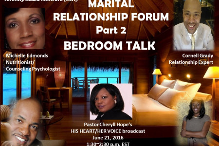 MARITAL RELATIONS FORUM: BEDROOM TALK Infographic