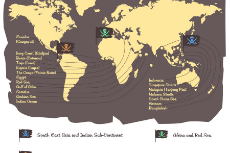 Maritime Piracy in 2015 - Infographic  Infographic