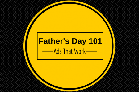 Market to the Shoppers, Not to the Fathers on Father's Day Infographic