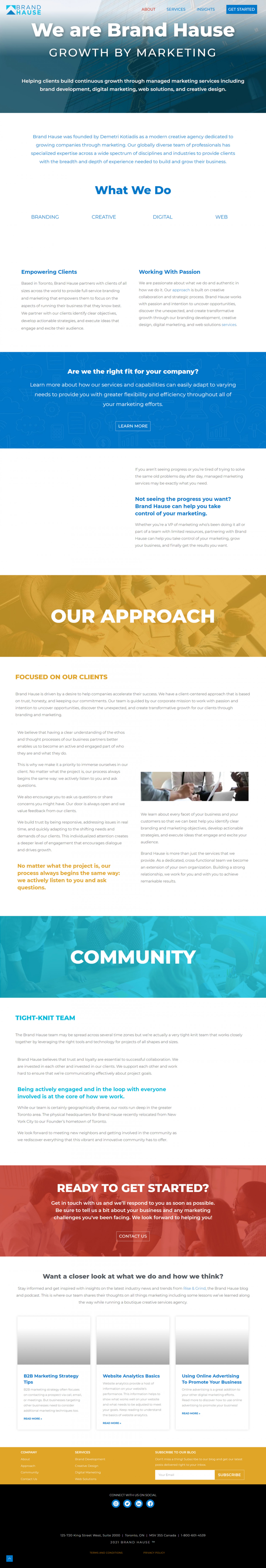 Marketing Agency Infographic
