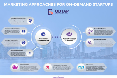 Marketing Approaches for On-demand Business Startups Infographic