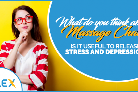 Massage chair is way out of stress. Do you agree? Infographic