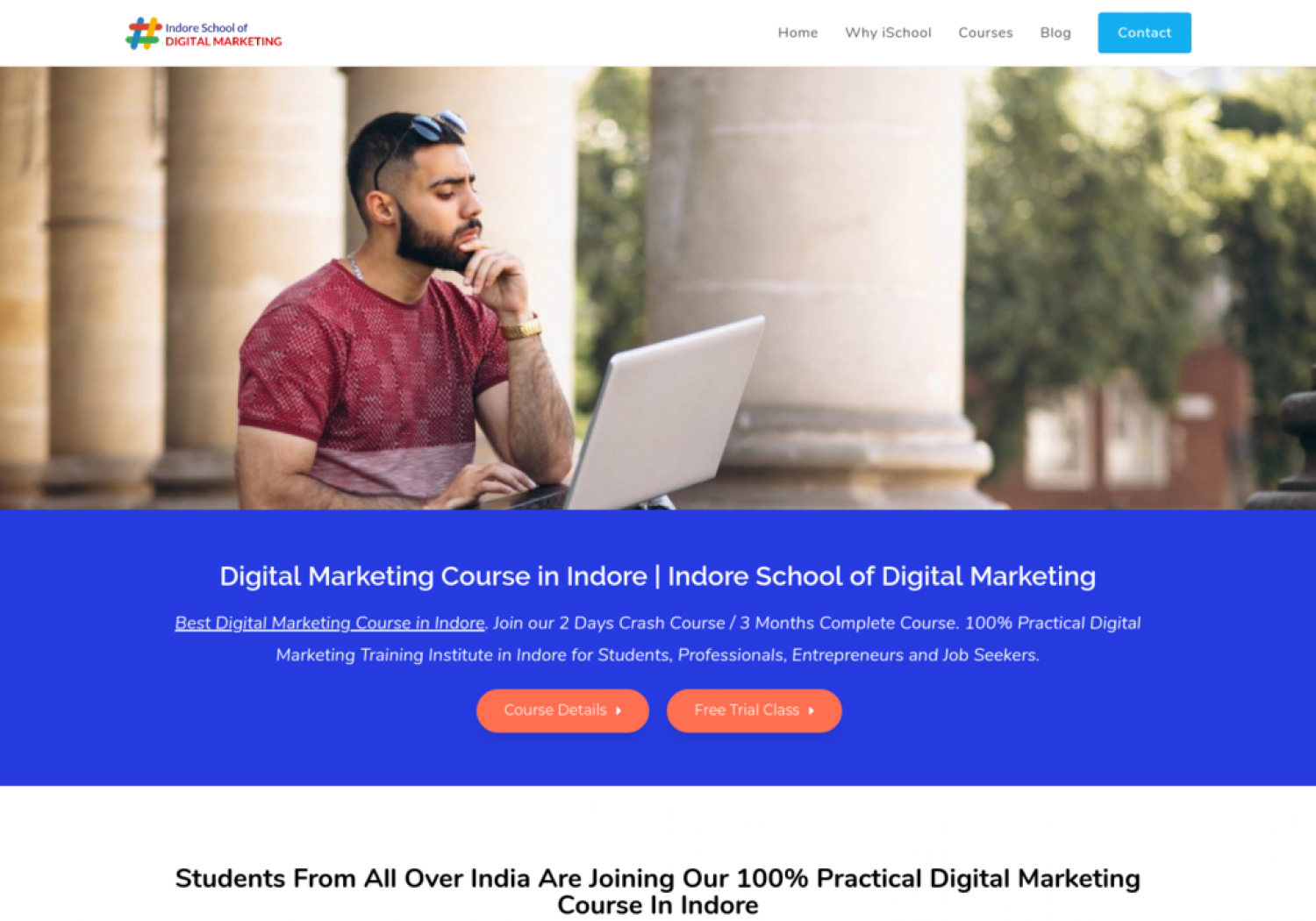 Master Digital Marketing Courses In Indore Infographic