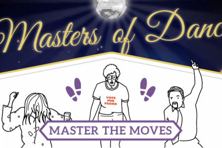Masters Of Dance: Learn To Dance These Iconic Dance Scenes From Film & TV Infographic