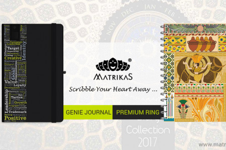 Matrikas Diaries and Journals Infographic