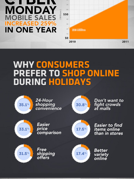 Maximizing Your Dollars On Cyber Monday Infographic