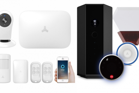 Maxkin DIY Smart WIFI & Wireless House Security Alarm Systems  Infographic